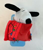Bark Box Peanuts DOGHOUSE SNOOPY Dog Toy - Size XS/S - 2 Piece - Squeaky