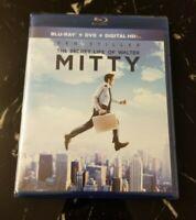The Secret Life of Walter Mitty (Blu-ray/DVD, 2014, + Digital HD