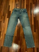 Used vintage Levis 501, Made in USA Size 32 x 34, second hand process