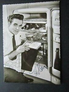 Ted Herold __  Autogrammkarte mit Autogramm __ gegeben 2002 ____ 66.)