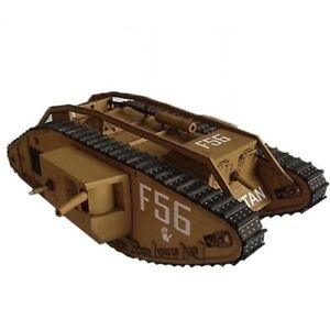 1:25 Scale Large 3D Paper Model DIY 41cm British Mark IV Tank WWI Puzzle Gift
