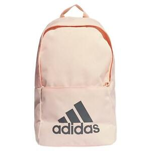 adidas ESSENTIALS LADIES SPORTS BACKPACK ORANGE GYM BAG ACTIVE SCHOOL LAPTOP NEW