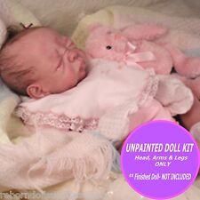 "Reborn vinyl doll kit Josie  by Tasha Edenholm 19"" Soft Vinyl reborn  blank kit"