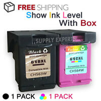 2pk 61 XL Ink Cartridge Combo Set For HP ENVY 4500 4501 4502 4504 5530 5531 5535