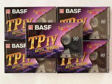 5 BASF TP IV Metal Maxima Position Metal Audio cassettes