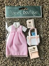 SHE'S EXPECTING baby Shower Dress Girl Jolee's Stickers NEW
