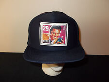 VTG-1990s Elvis Presley 29 cent US Postal Stamp trucker snapback hat sku31