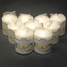 Colonial Candle SOUTHERN MAGNOLIA Votive Candles - Lot of 9 Wrapped Votives