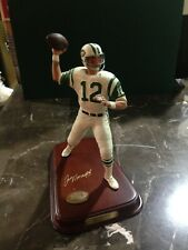 Joe Namath Hall of Fame Danbury Mint Figure Figurine Broken Finger