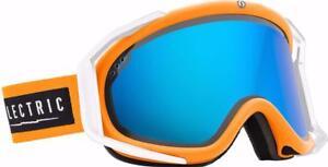 Electric Rig Ski Snowboard Goggles BIOHAZARD Free Bonus Lens EG1414201 BBLC