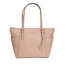 Michael Kors Jet Set Saffiano Leather Tote - Fawn