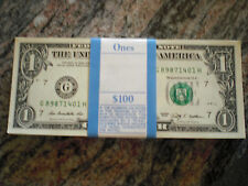 100 x 1 Dollar Note, 1 Dollar Schein, 1$, Geld,USA,Prägejahr 2013,druckfrisch,