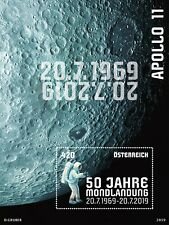 AUSTRIA 2019  Moon Landing 50 Years Sheet