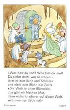 "Fleißbildchen Heiligenbild Gebetbild  Ida Bohatta Holycard"" H2519"""