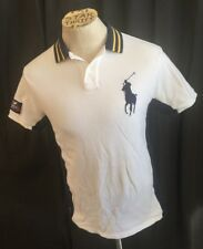 Vintage 2006 Us Open Tennis Polo By Ralph Lauren Shirt Adult Medium * Stained *