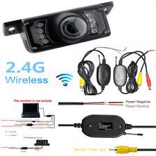 2.4G Wireless 7LED IR Night Vision Car Reversing Rearview HD Camera Kit PAL/NTSC