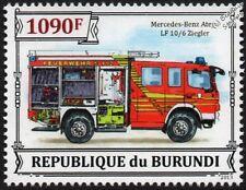 MERCEDES-BENZ ATEGO LF 10/6 Ziegler Fire Engine Vehicle Stamp