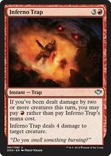 Inferno Trap  x4 NM Duel Decks: Speed Vs. Cunning MTG Red Uncommon