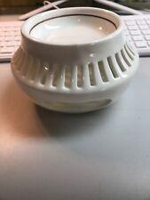 WILLIAMS SONOMA PORCELAIN TEA CANDLE HOLDER/WARMER (bt)