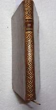 livre ancien L'école de la mignature 1766 Peinture Couleurs Artiste
