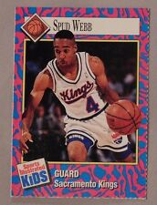 1993 Sports Illustrated for Kids Basketball Card Spud Webb Kings #147