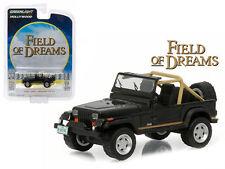 "GREENLIGHT 1987 JEEP WRANGLER YJ ""FIELD OF DREAMS"" MOVIE 1/64 DIECAST 44740 D"