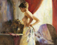 CHENPAT1262 fine nudes girl portrait handmade-painted oil painting art on canvas