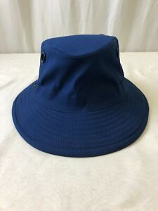 Tilley TP100 Polaris Hat Royal Navy Size Small *Made in Canada* (2104150308)