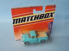 Matchbox 1957 GMC Pick-Up Truck Light Blue Toy Model Car 70mm in BP