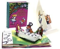 Alice in Wonderland Pop Up Book and Card Gift Set Lot by Robert Sabuda New