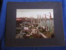 Havana Cuba Harbor/Large Format 1904 Detroit Photographic Co Photochrom Print