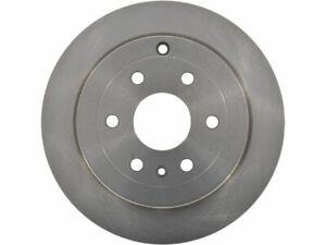 For 2009-2017 Chevrolet Traverse Brake Rotor Rear API 39828QP 2010 2011 2012