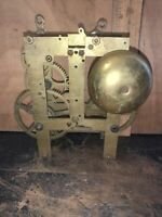 ANTIQUE E.N. WELCH CLOCK MOVEMENT PARTS REPAIR