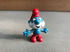 The Smurfs, Papa Smurf Vintage Figurine. PEYO, West Germany