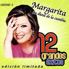 """12 Grandes Exitos, Vol. 2 [Limited] by Margarita """"La Diosa de la Cumbia"""" (CD,..."""