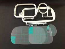 Embroidery Hoop Set for Brother SE400 SE425 PE500 Machine - 3 Piece Set - NEW