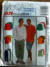 McCall's Men's Shirt + Pants Sewing Pattern style 2568 craft sew DIY man costume
