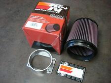 Mitsubishi 3000GT TT N/A GTO 91-99 MAF Air Intake + K&N Air Filter Air Filters