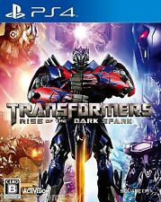 Transformers Rise Of The Dark spark SONY PS4 PLAYSTATION JAPANESE NEW JAPANZON