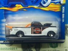 Hot Wheels (2000) HARLEY DAVIDSON '40 Ford Truck #156 Great Chrome Rims & Blower