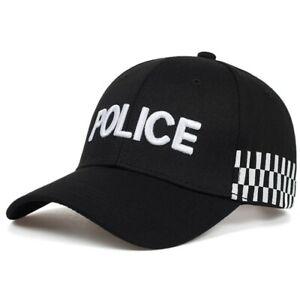 POLICE Men's Tactical Hat Baseball Caps Snapback Army Cap Trucker Outdoor Sports