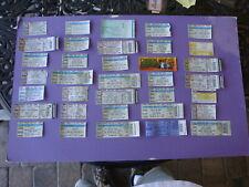 HEAVY METAL You PICK 2 Concert Ticket Stubs Anthrax Papa Roach Stryper Tool