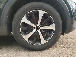 """Kia Sorento UM MK3 2015 - 2020 18"""" Alloy Wheel & Tyre Full Set 235 60 R18"""