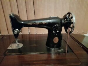 Treadle Singer Sewing Machine in Cabinet, 1950's Little Bay