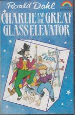 Roald Dahl Charlie And Great Glass Elevator Cassette Audio Book Drama FASTPOST