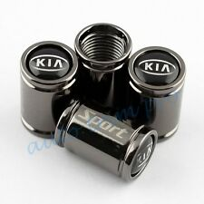 Titanium Car Air Dust Wheel Screw Tire Tyre Valve Stem Caps Cover For Kia Parts