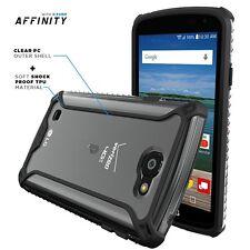 Poetic Affinity【Dual material】Case For LG K4 /LG Optimus Zone 3 / LG Spree Black