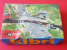 Eisenbahn Bausatz 7200 Bahnübergang von Kibri für die Spur N in OVP!!!