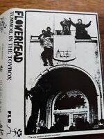 Flowerhead, Turmoil In The Toybox, Cassette 1990, ULTRA RARE, Indie/Punk/Goth EX