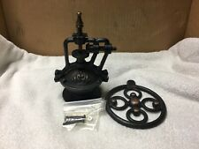 Manual Coffee Grinder Antique Cast Iron Hand Crank Coffee Mill Only (Replica)